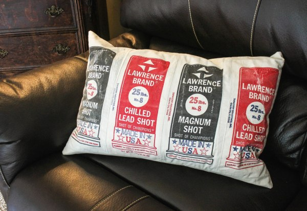 Lead Shot Pillow