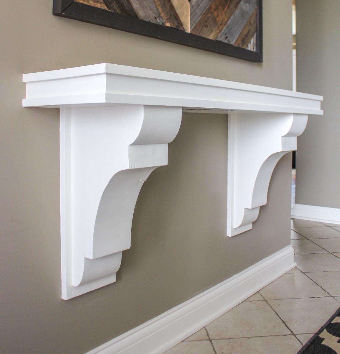 Corbel Entryway Table