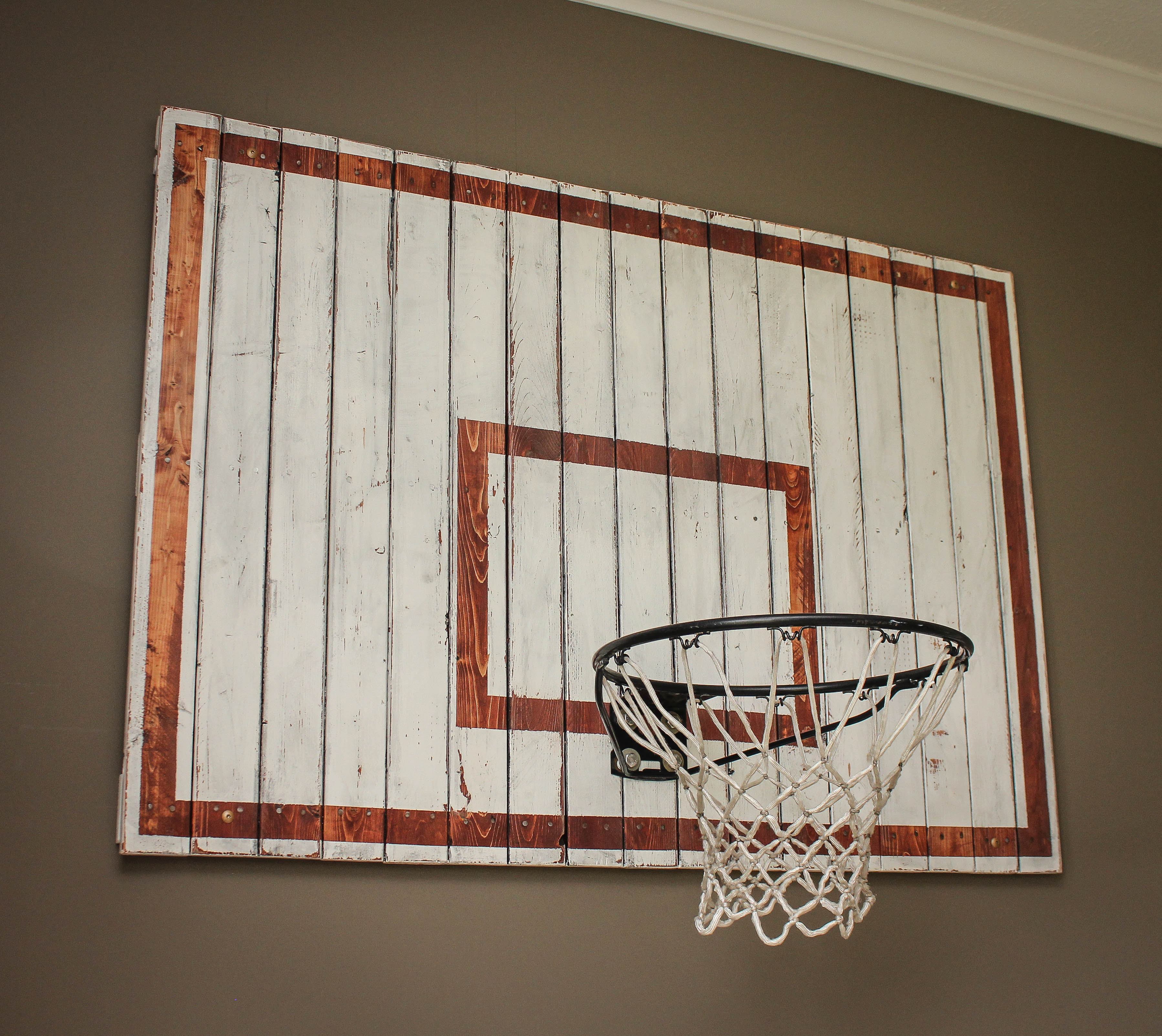 Indoor Basketball Hoop | RUGGY DIY