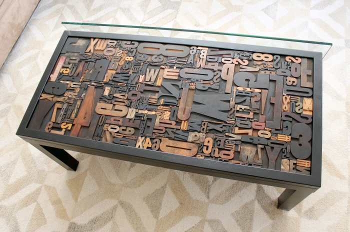 Letterpress Table