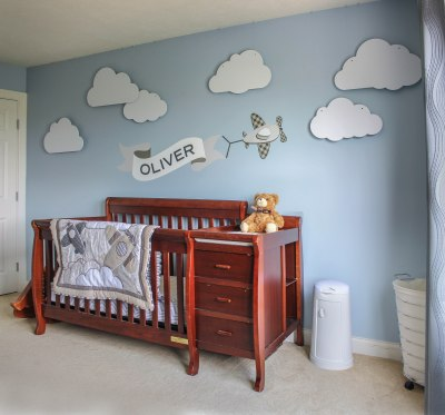 Floating Nursery Clouds Ruggy Diy
