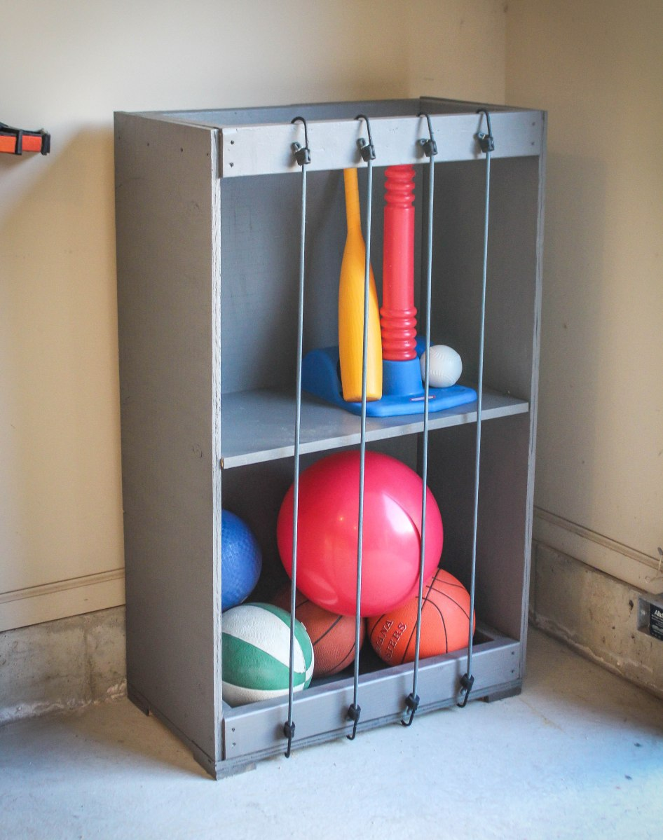 Bungee Ball Storage